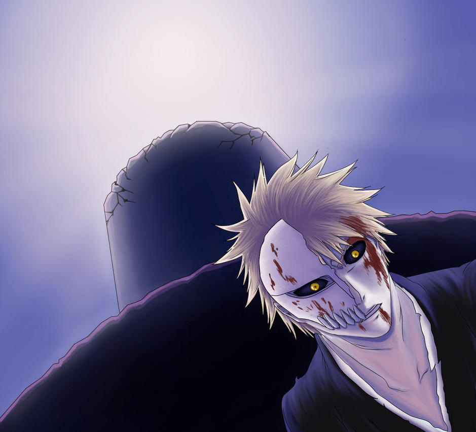 Bleach 283 Ichigo Hollow By Lidiviy On DeviantArt