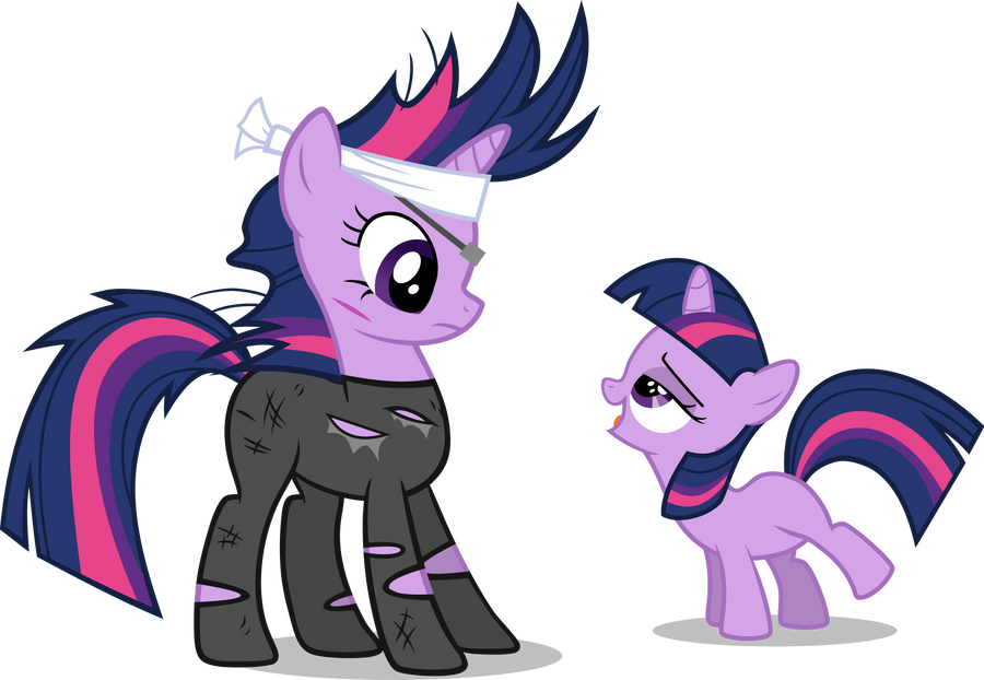 Past Twi meets Future Twi (CDNW alternate) by Drewdini