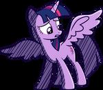 Princess Twilight -- Sonic Riders style