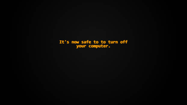 Wallpaper - Turn Off Your Computer