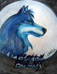 Eternal Blue-Wolf art-trade