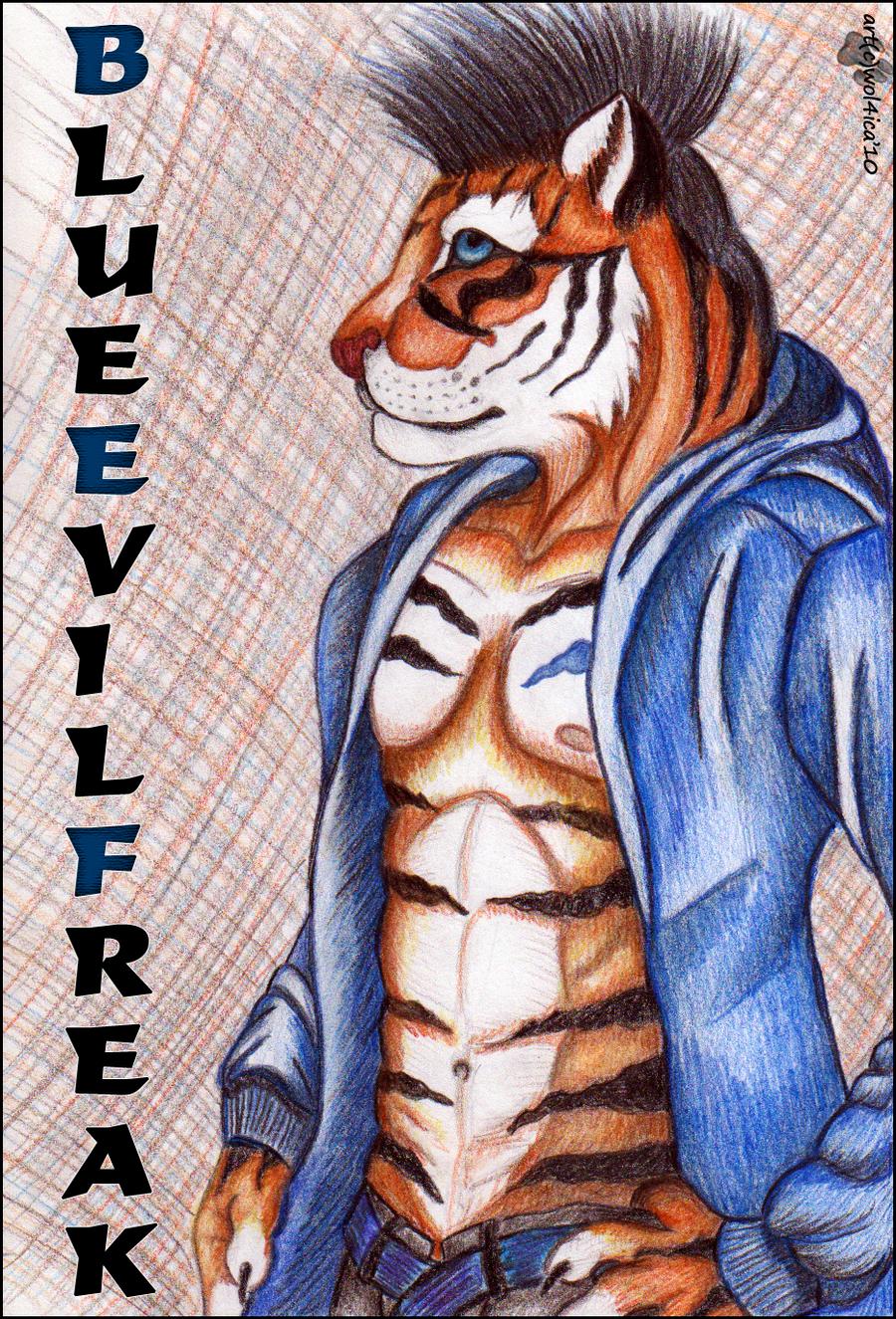 BlueEvilFreak :: gift by Wol4ica