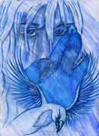 Tripple Blue Totem