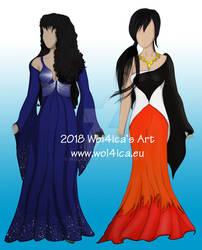 Illustrative dresses - ASTONE WORLD