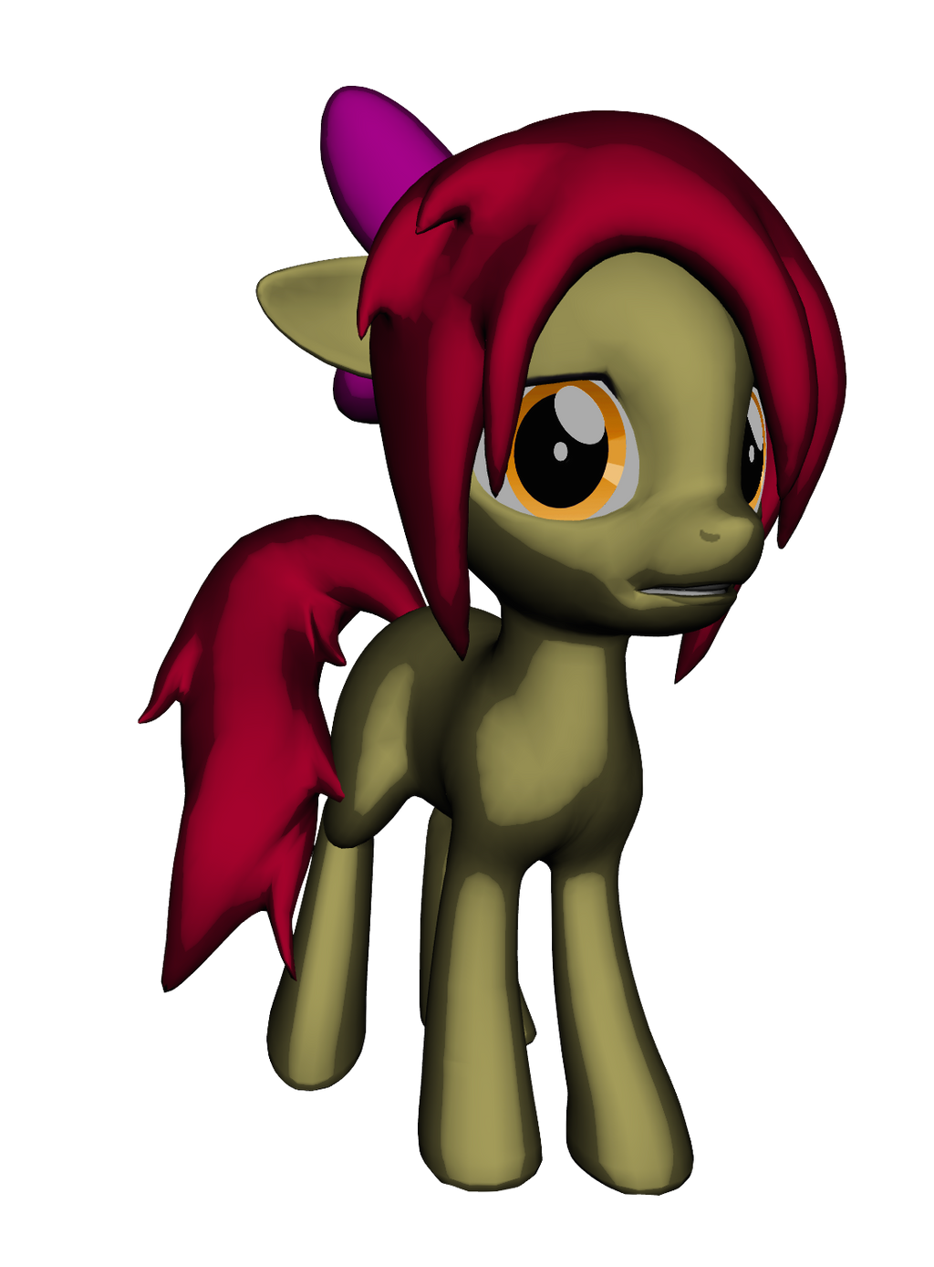 Emo Apple Bloom by iLucky7