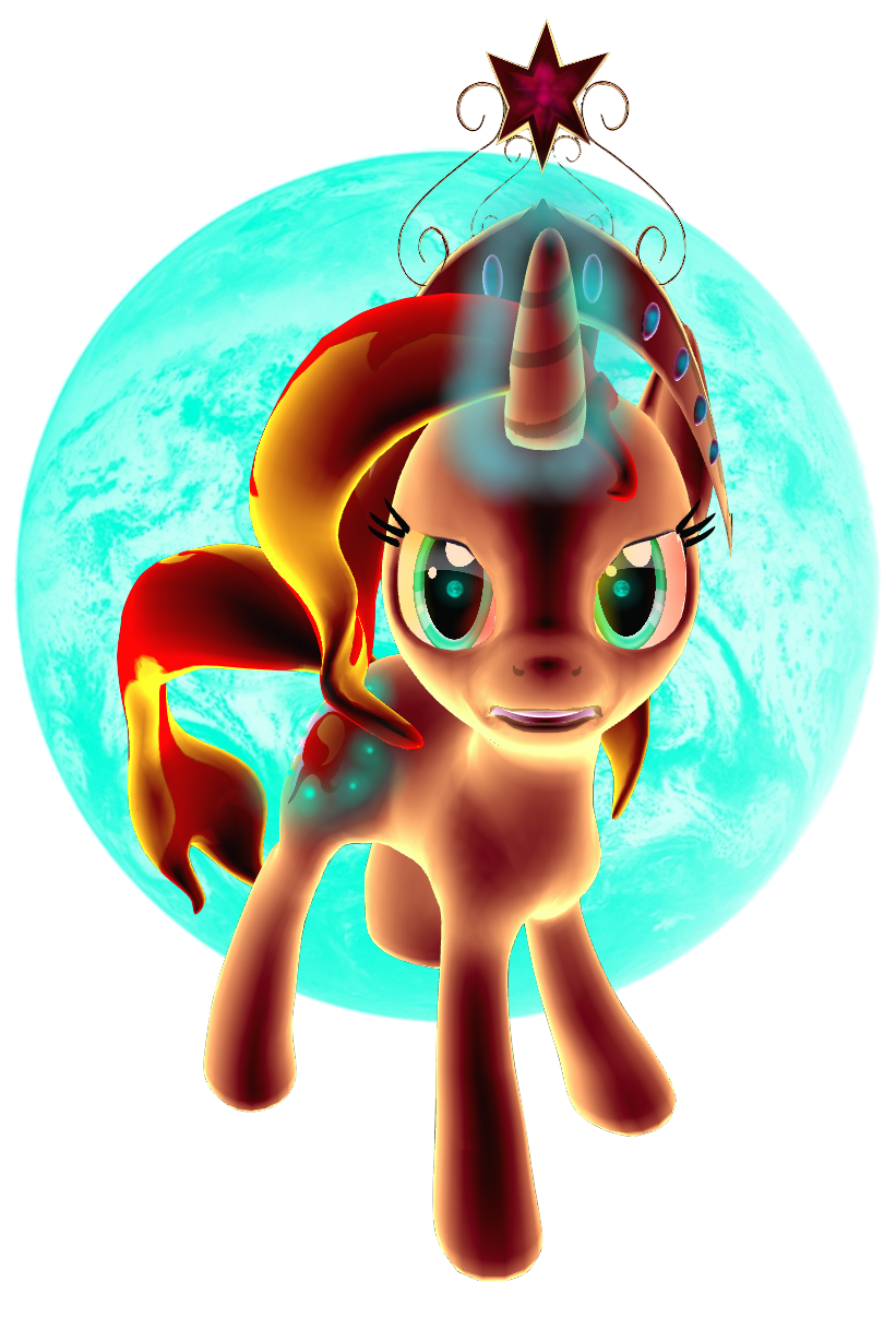 Sunset Shimmer by iLucky7