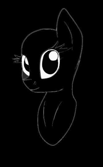 Pony Bust Base by iLucky7