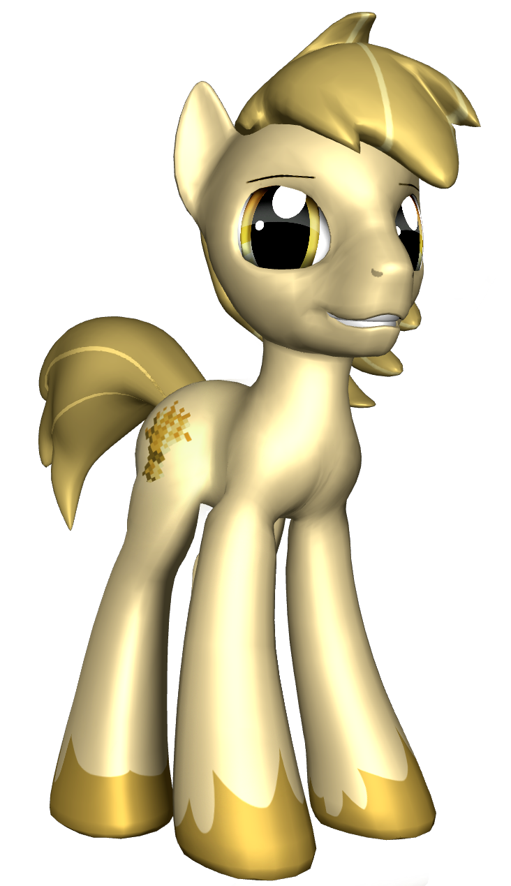 Equestrian Gothic: Goldley by iLucky7