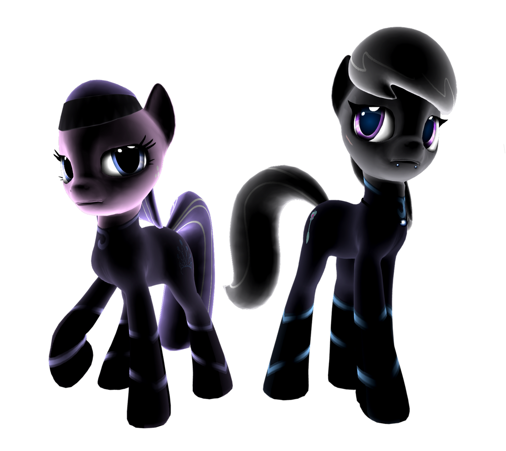 Nuclear Winter: Diamond Tiara and Silver Spoon by iLucky7
