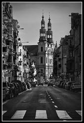 Church with a road 2 by ink-gp