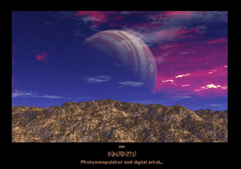 'Fantasy world' by ink-gp