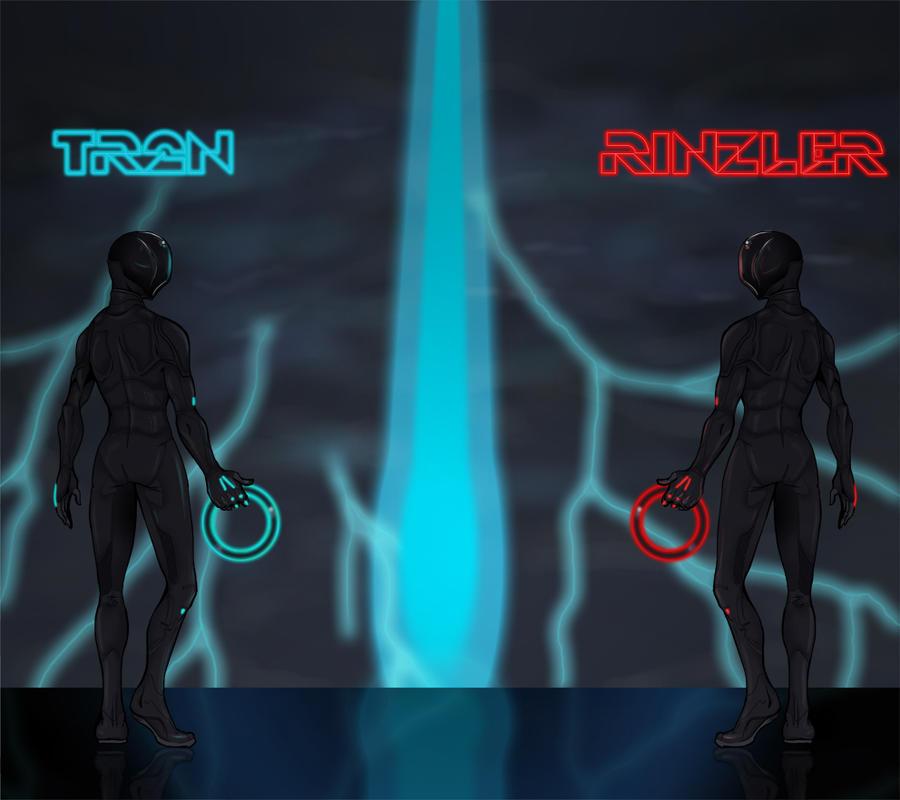Tron Rinzler By KajiMateria