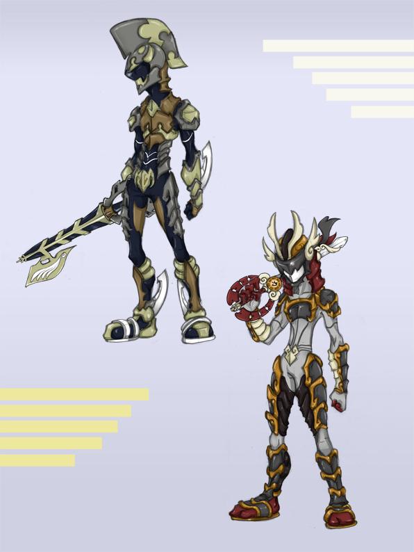 Keyblade Armor Series 1 by KajiMateria on DeviantArt