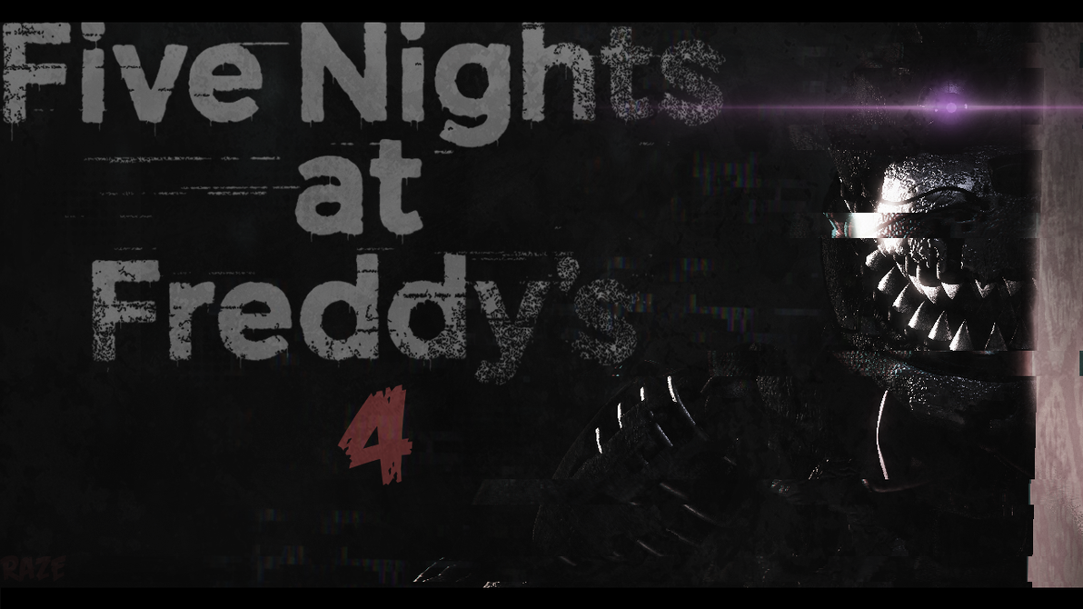 SFMFive Nights At Freddys 4 Wallpaper By RazeIFK
