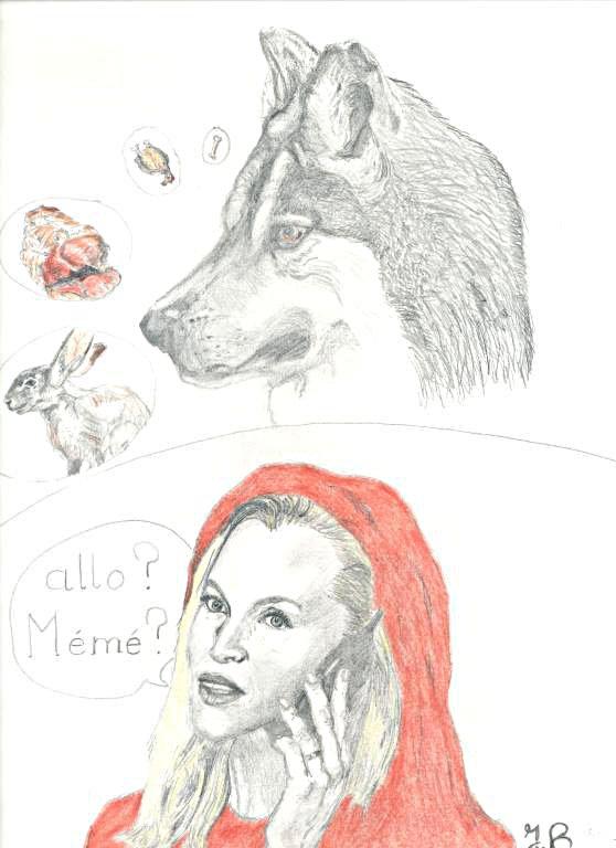 Little Red Riding Hood by jbdevart