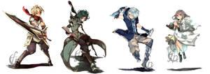ICDS Mascots