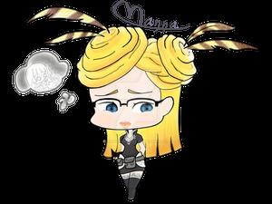 Chibi Sophie de Chan Prin Gaelyka