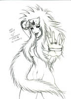 sketch Jiraiya XDDDD by kakochan