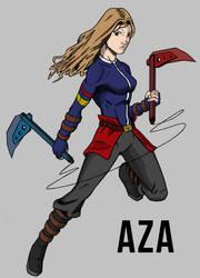 Aza by Stark-liverbird