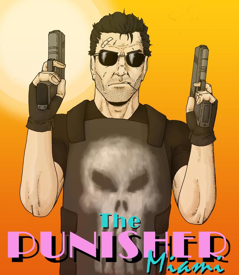 The Punisher: Miami by Stark-liverbird