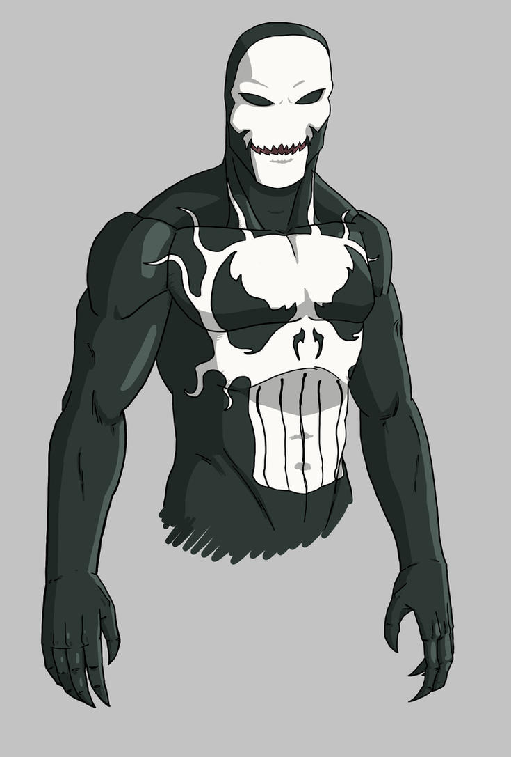 What if The Punisher had the Venom symbiote? by Stark-liverbird