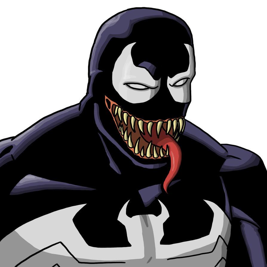 Venom practice by Stark-liverbird