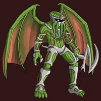 Fan Fusion - Zeddthulhu by Stark-liverbird