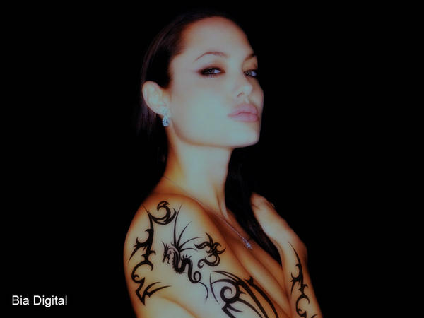 tattoos for hairdressers. Angelina#39;s tattoo.