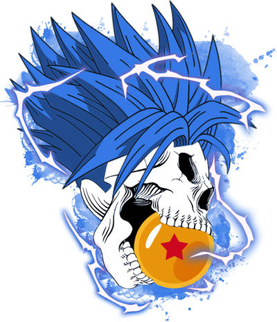 Super Saiyan Blue Tattoo Art by mrblaze111