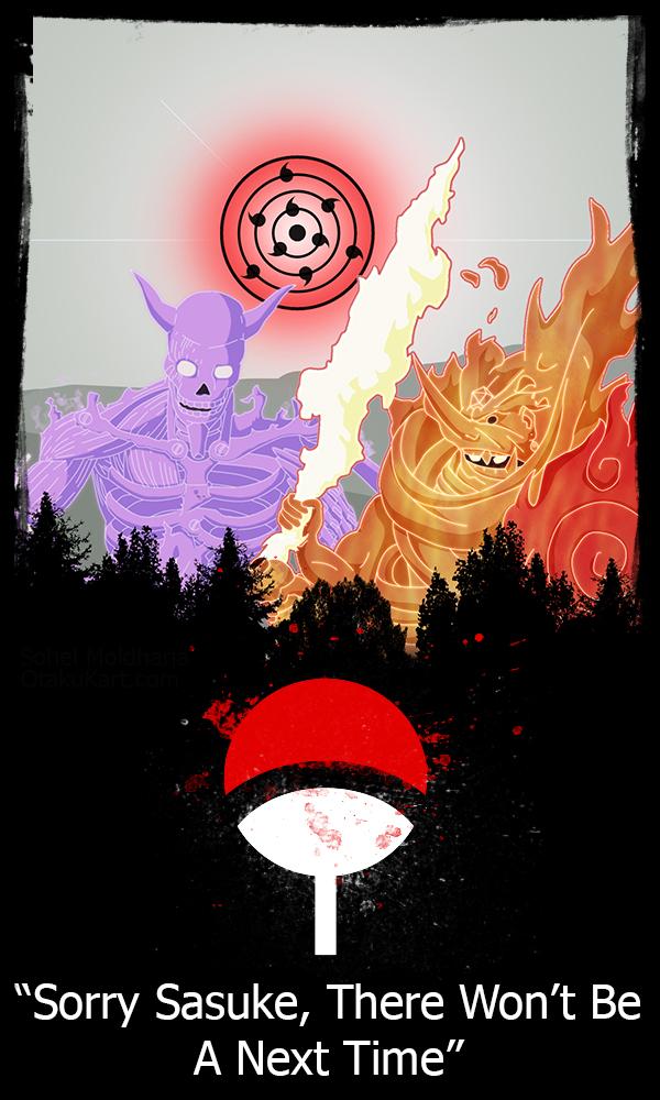 Itachi and Sasuke Mobile Wallpaper by me XD by mrblaze111