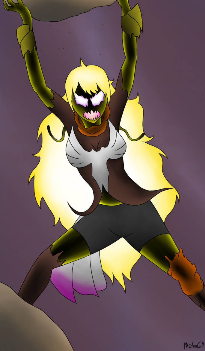 Symbiote Yang (RWBY x Marvel) by MechaG11 on DeviantArt