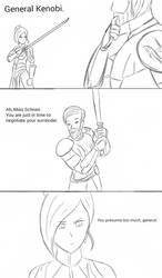 INJRWBY Elseworlds: Winter vs Obi-Wan