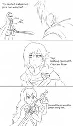 INJRWBY Elseworlds: Ruby vs Lucina by MechaG11