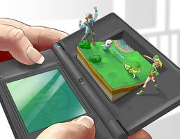 Commission: Pokemon Battle