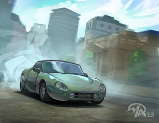 Favorite Cars: TVR Griffith 500 by mattandrews