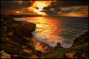 Kauai Sunrise by kimjew
