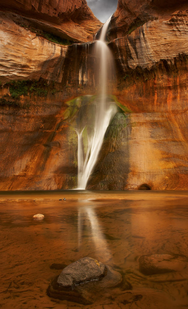 Calf Creek Falls, Utah by kimjew