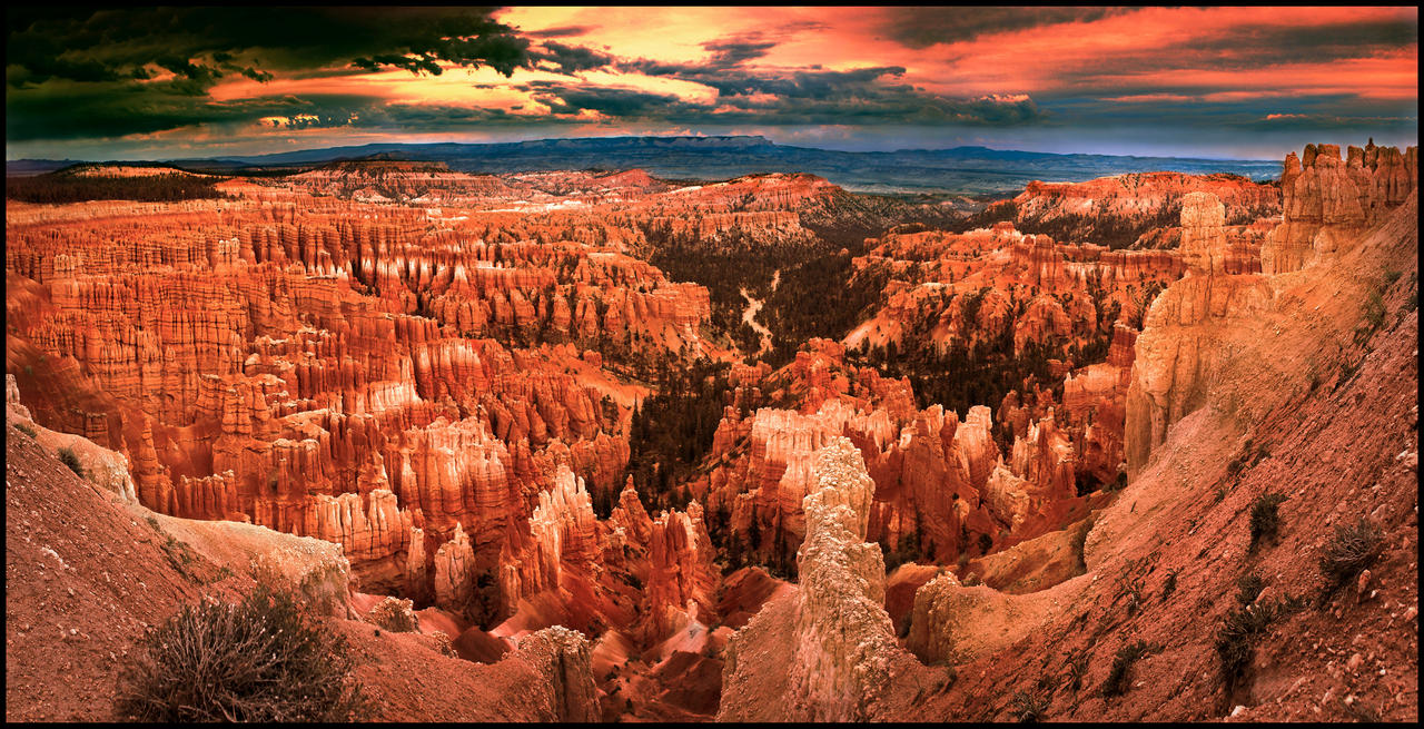 Bryce Canyon Panorama By Kimjew On Deviantart