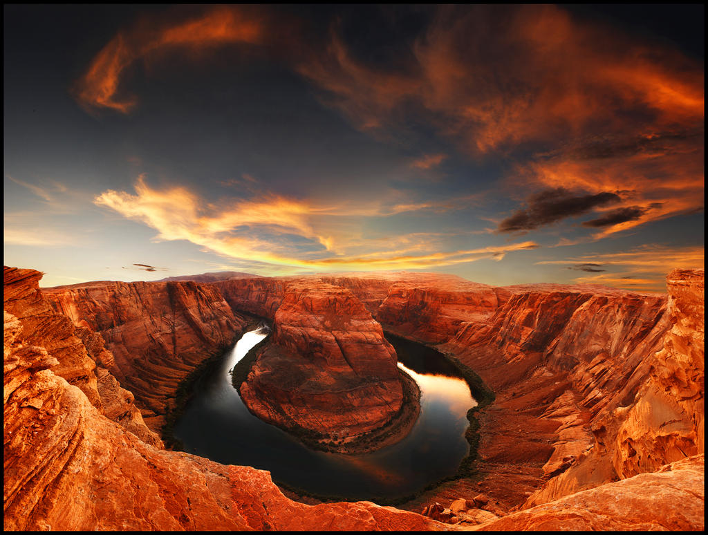 Horseshoe Bend, Arizona by kimjew