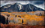 Kebler Pass in the Fall