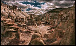 Bisti Badlands Planet Earth?