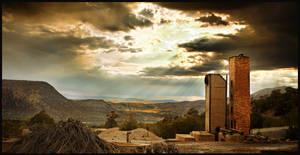 Abandoned mine New Mexico by kimjew