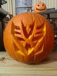 Decepticon Pumpkin Carving