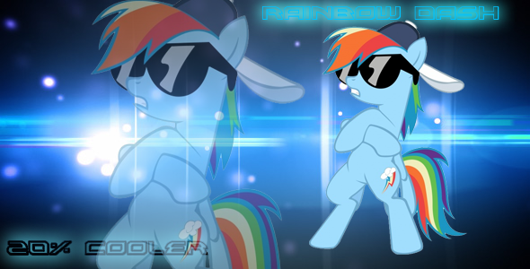 Rainbow Dash Is 20 Cooler Mlp Wallpaper By RAINBOW15278