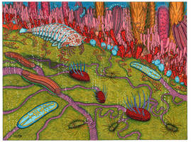 Cambrian Microbial Mat by NocturnalSea