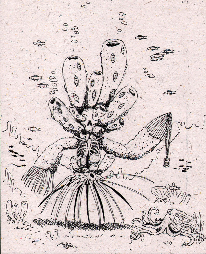 Sponge Ghost by NocturnalSea