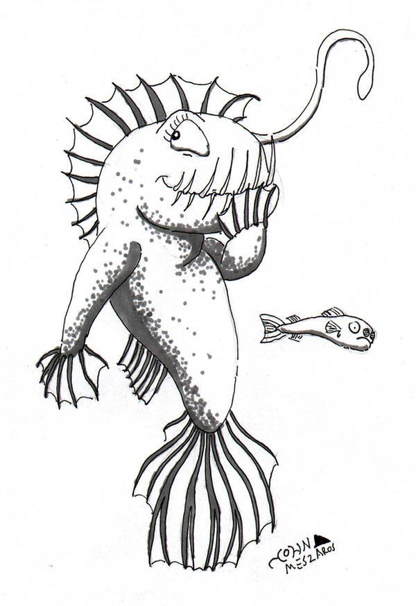 Pictjune Anglerfish by NocturnalSea