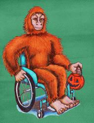 Cryptid Halloween- Bigfoot