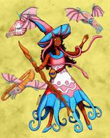 Cephalopod Wizard