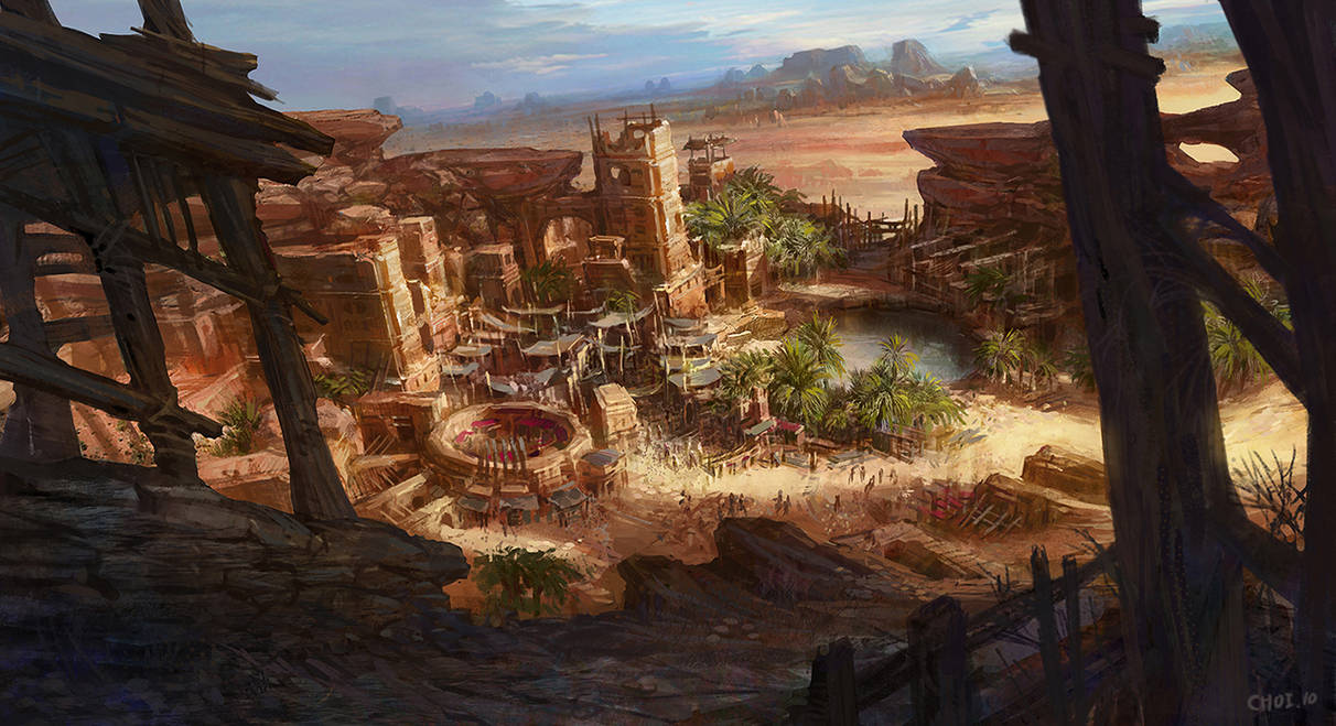 Oasis in the desert by crs1009